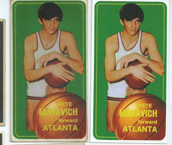 1970 Pistol Pete Maravich Rookie Card MINT Or Aged VERY