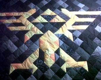 Zelda Throw Quilt Pattern