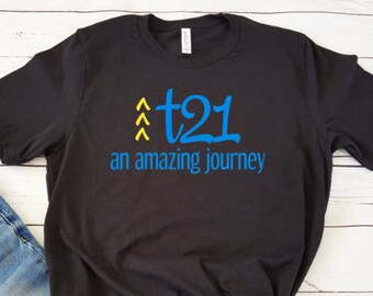 68b4fa6022184 Down Syndrome Awareness Tshirt trisomy 21 t21 world down syndrome day