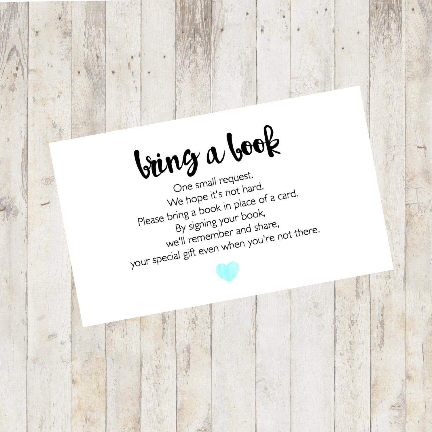 photograph about Bring a Book Instead of a Card Printable named Boy or girl Shower Printable, Boy or girl Shower Carry a Reserve Card, Carry a E-book As an alternative of a Card, Convey a E-book Kid Shower Include Pastel Blue