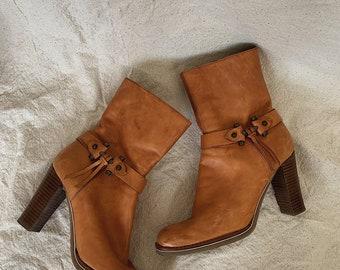 cdb6d7cdc318 Preloved Nine West Ankle boots