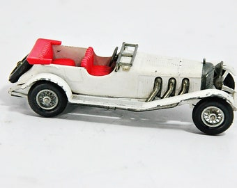 Vintage 1963 Matchbox Lesney Models Of Yesterday #10 1928 Mercedes Benz36-220 Made in England