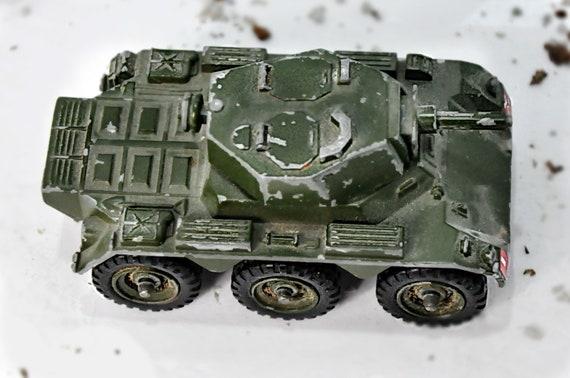 Corgi Toys #906 Saladin Armoured Car made in Hong Kong 1960 s 1/43 scale  diecast metal