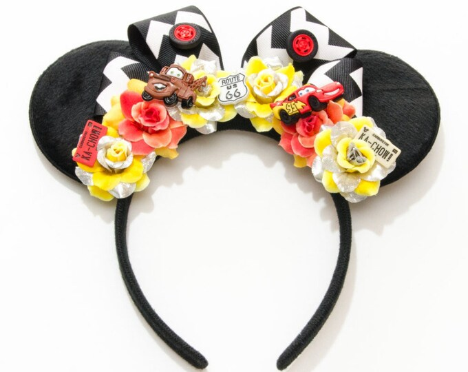 Route 66 Mouse Ears Headband
