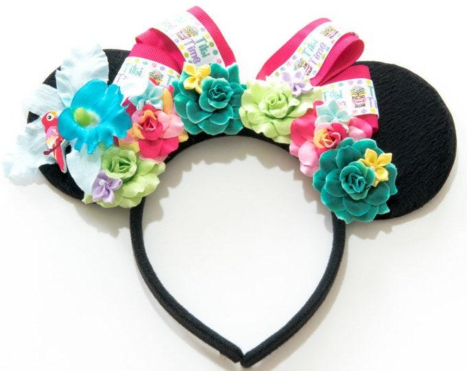 Enchanted Tiki Room Mouse Ears Headband