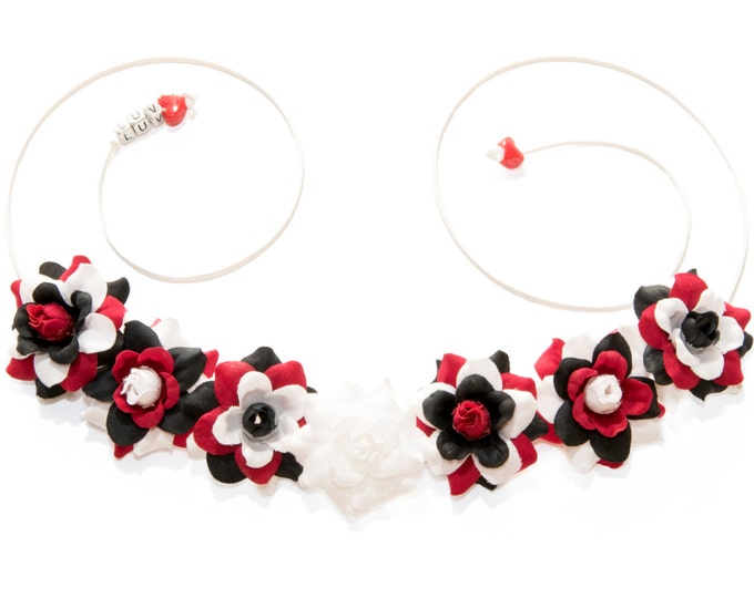 Harlequin Flower Crown