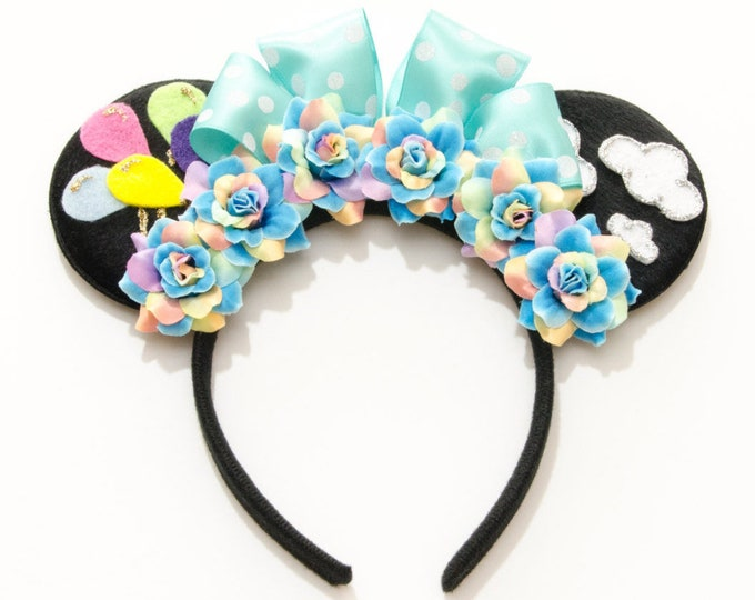 Up and Away Mouse Ears Headband