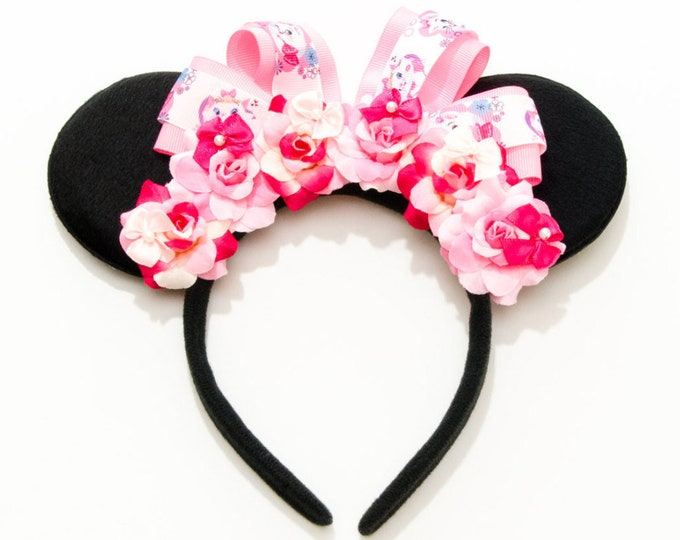 Marie Mouse Ears Headband