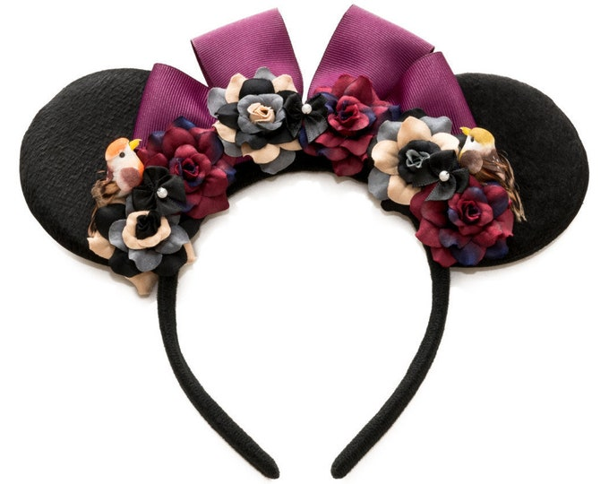 Briar Rose Mouse Ears Headband