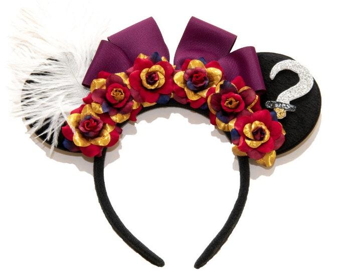 Captain Hook Mouse Ears Headband