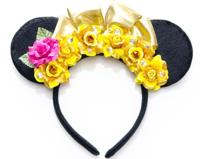 Belle Mouse Ears Headband