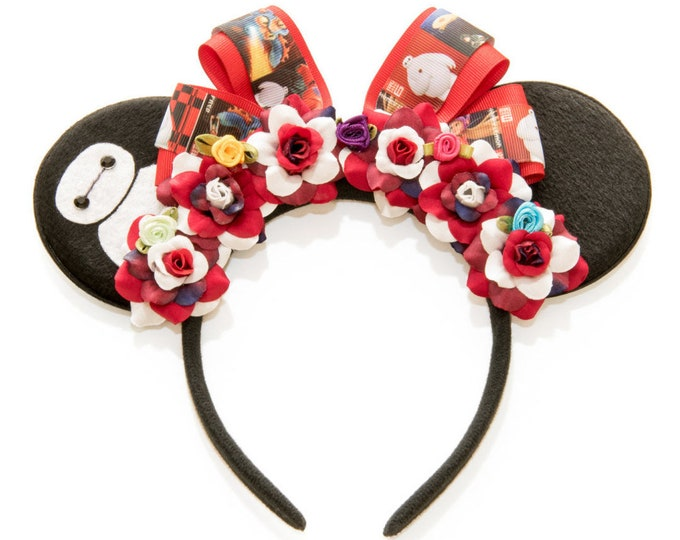 Baymax Mouse Ears Headband