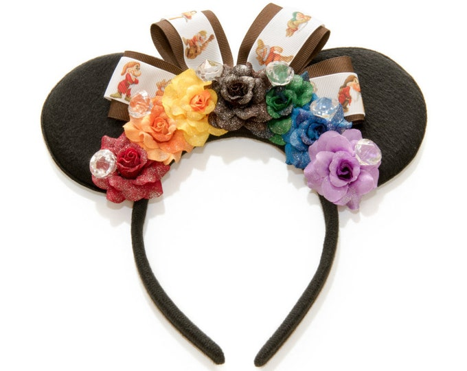 Seven Dwarfs Mouse Ears Headband