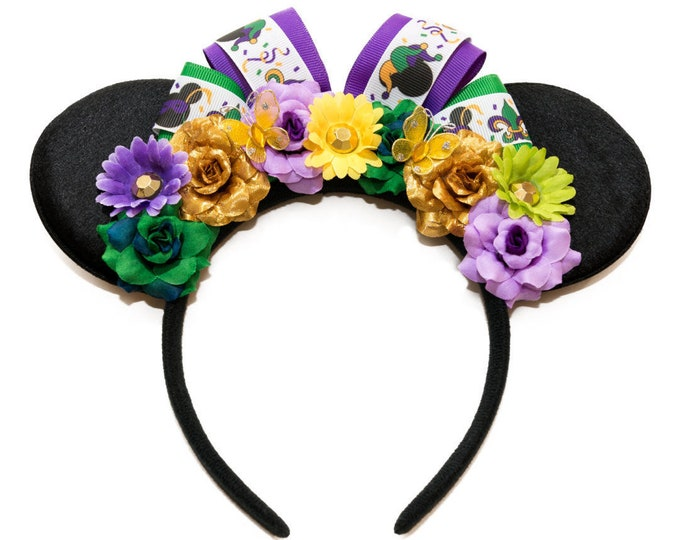 Mardi Gras Mouse Ears