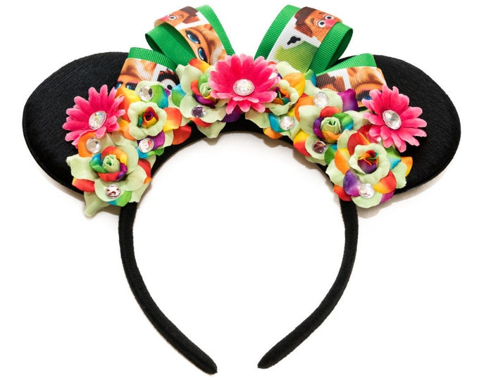 Rainbow Connection Mouse Ears Headband