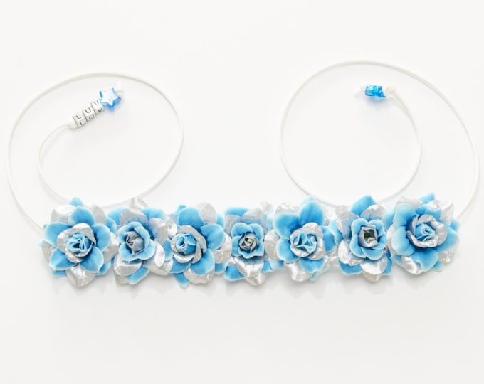 Princess Elsa Flower Crown