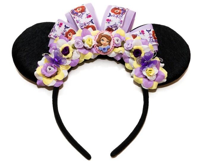 Princess Sophia Mouse Ears Headband