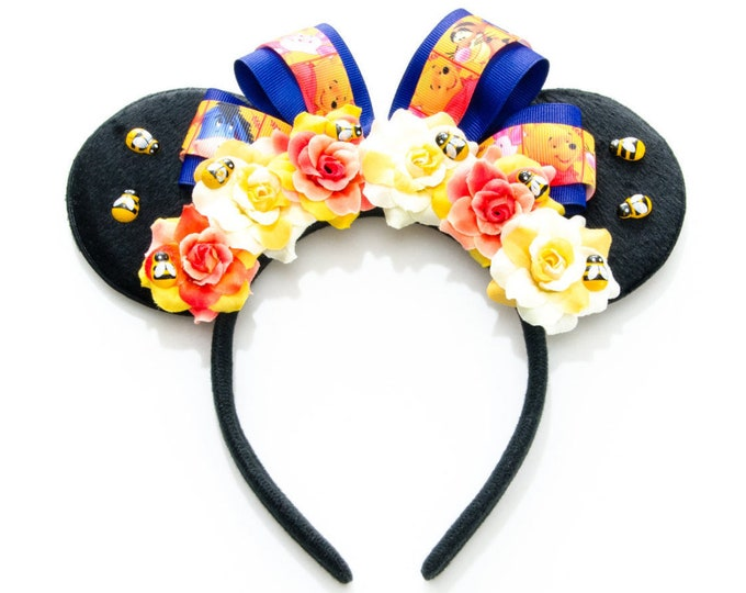 Hunny Bear Mouse Ears Headband