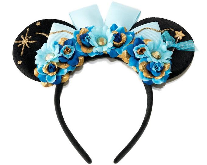 Blue Fairy Mouse Ears