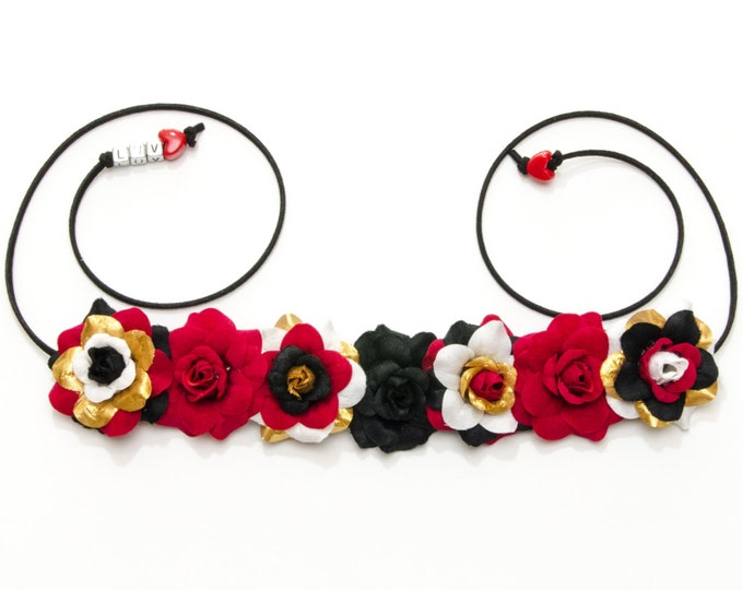 Queen of Hearts Flower Crown