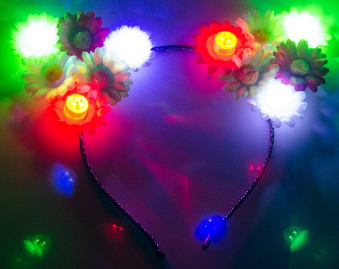 Cinco de Mayo LED Cat Ears
