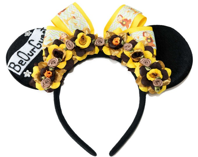 Be Our Guest Mouse Ears Headband
