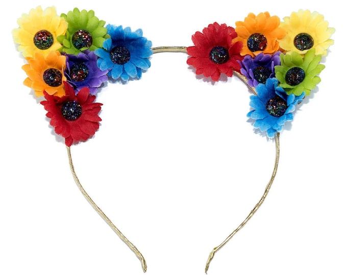 Rainbow Jewel Cat Ears