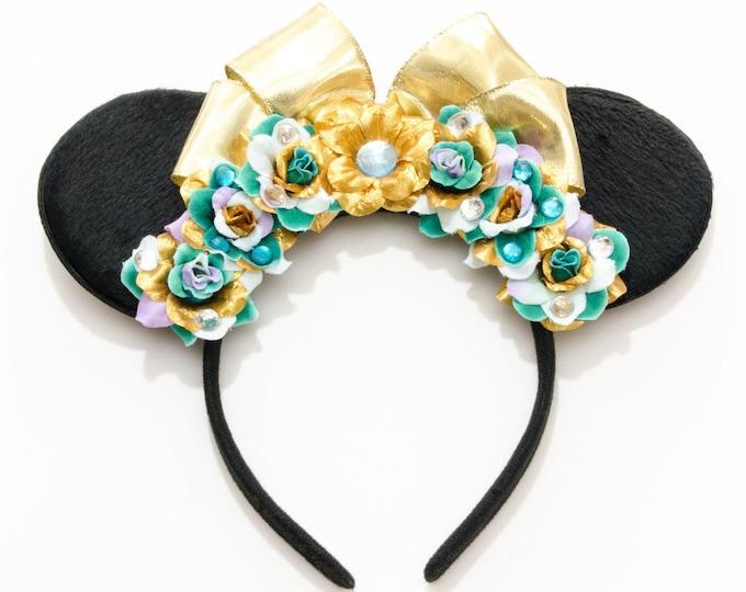 Jasmine Mouse Ears Headband