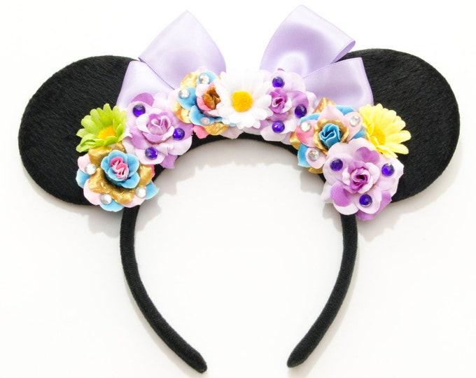 Rapunzel Mouse Ears Headband