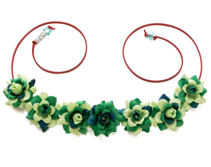Poison Ivy Flower Crown