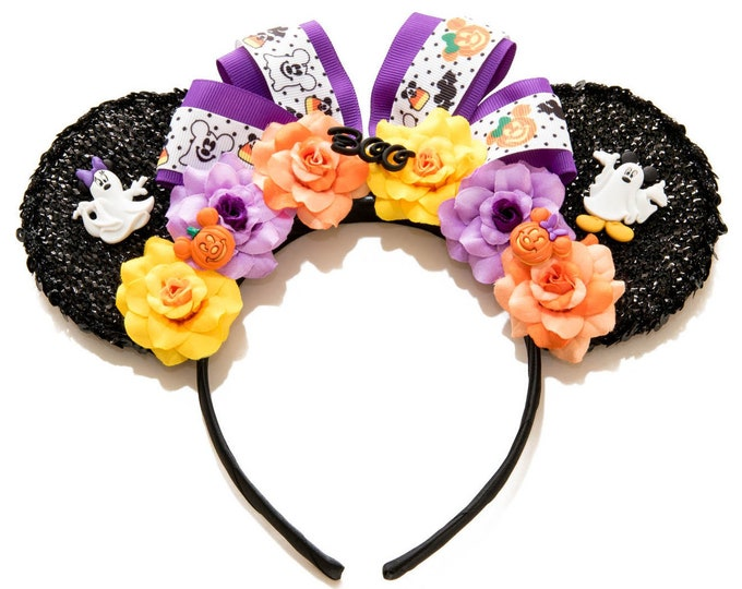 Halloween Mouse Ears Headband