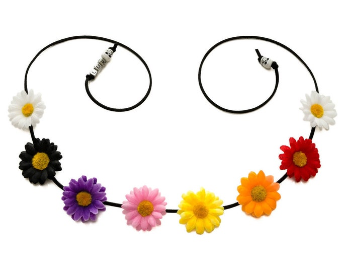 Day of the Dead Daisy Flower Crown