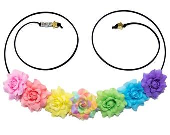 Libra Flower Crown, Flower Headband, Zodiac Gift, Libra Star Sign, Libra Gift, Zodiac Sign, Birthday Gift, Festival Clothing, Festival Wear
