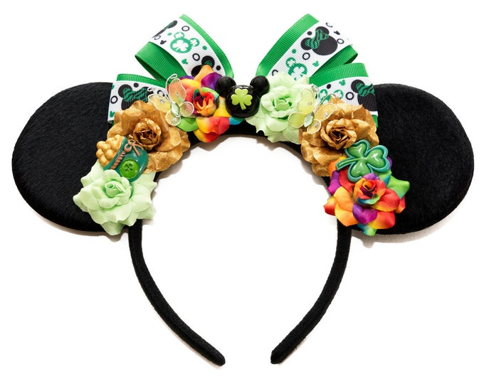 St Patrick's Day Mouse Ears