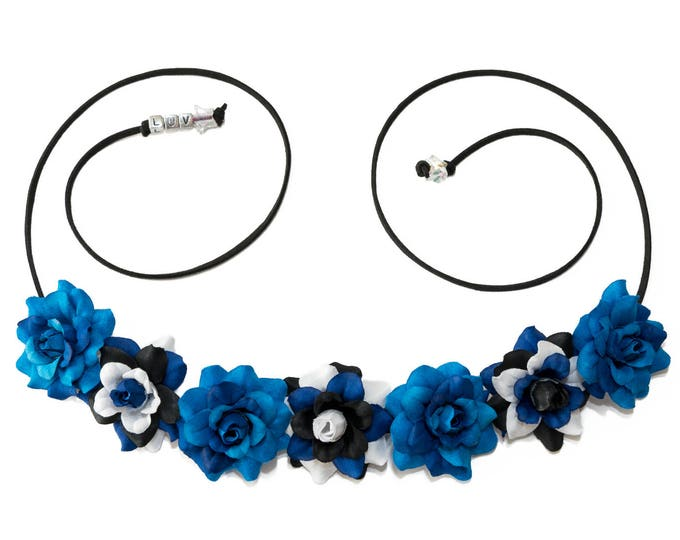 Police Box Flower Crown