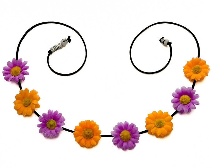 Halloween Daisy Flower Crown