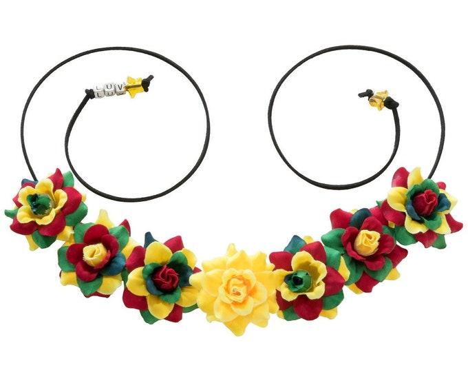 Robin Flower Crown