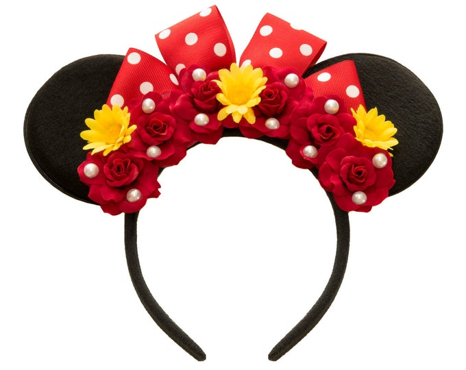 Red Minnie Ears