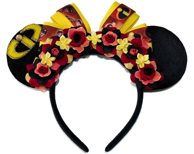 Incredibles Mouse Ears Headband