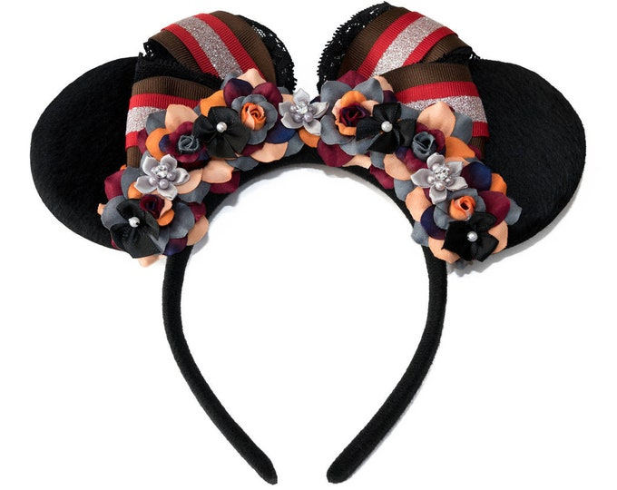 Mary Mouse Ears Headband