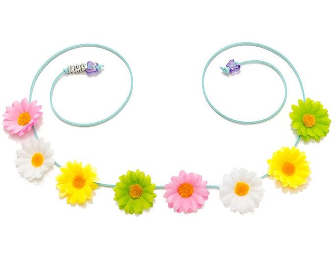 Easter Daisy Flower Crown