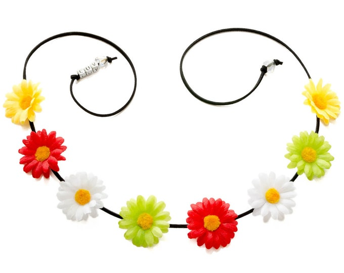 Cinco de Mayo Daisy Flower Crown