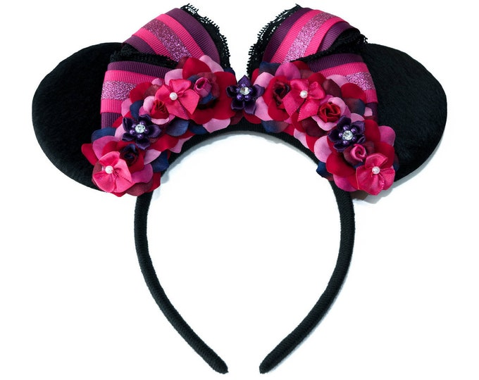 Sarah Mouse Ears Headband