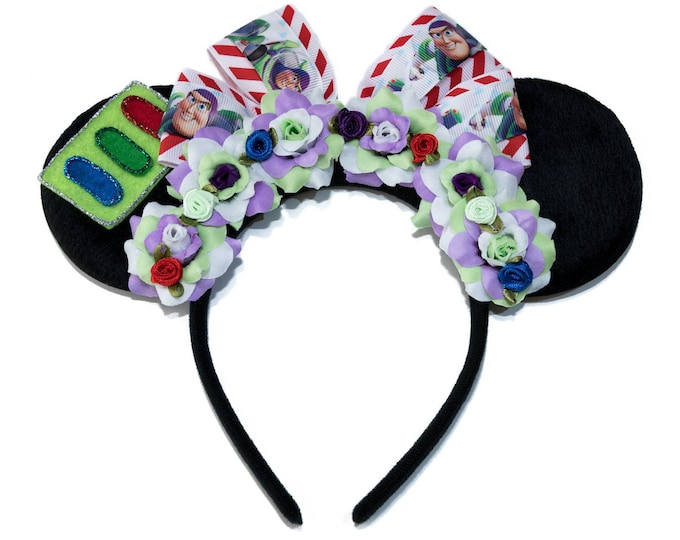 Buzz Lightyear Mouse Ears Headband