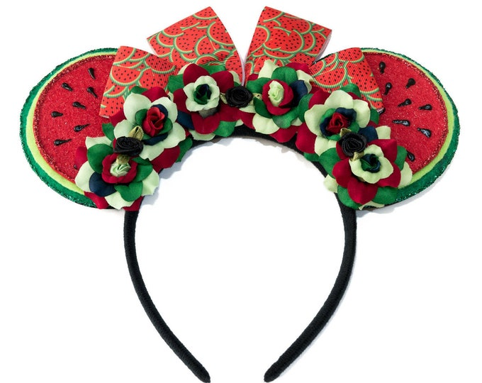 Watermelon Mouse Ears