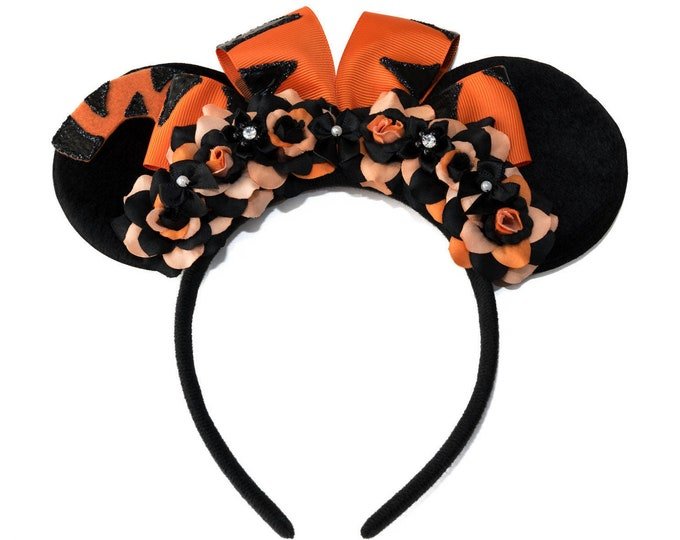 Pouncing Tiger Mouse Ears Headband
