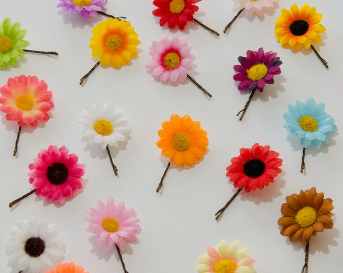 Daisy Flower Hair Pin