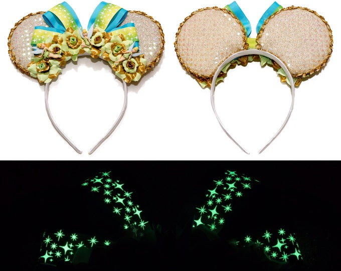 Pixie Dust Mouse Ears Headband