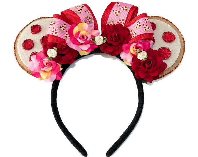 Pizza Mouse Ears Headband