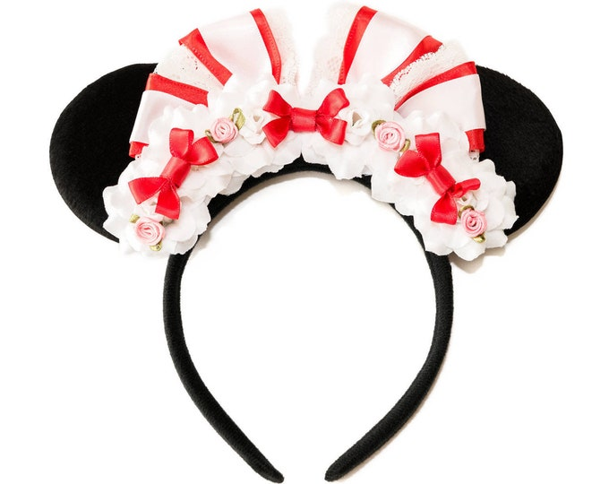 Mary Jolly Holiday Mouse Ears Headband